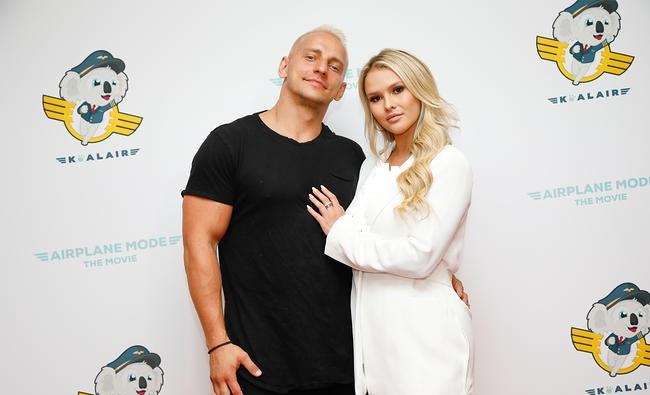 vitaly zdorovetskiywith his girlfriend kinsey wolanski
