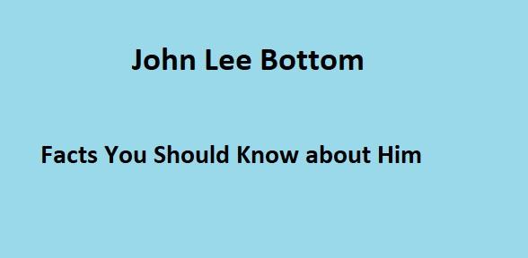 John Lee Bottom