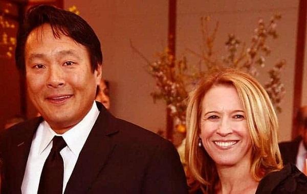 Polly Tsai with Ming Tsai